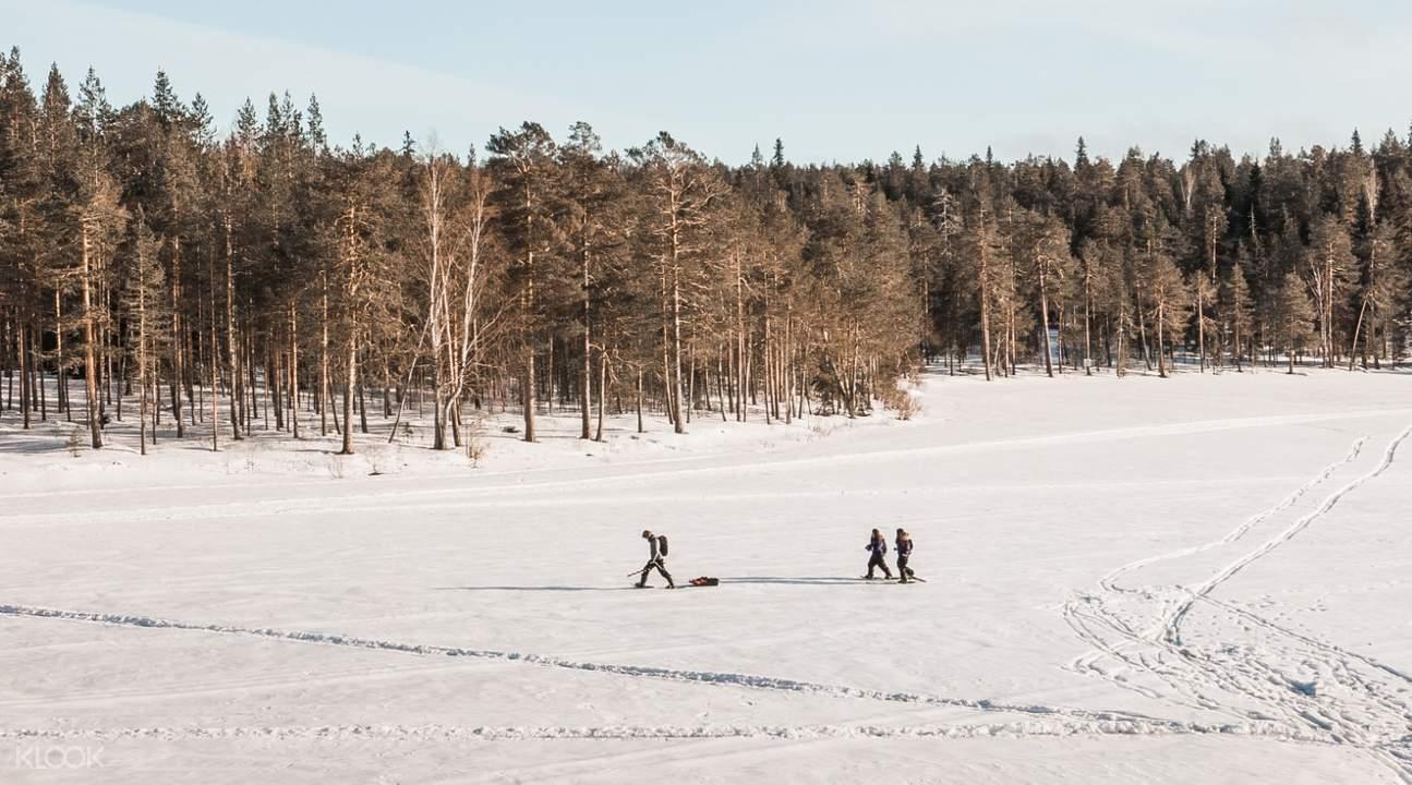 芬蘭北極冰釣