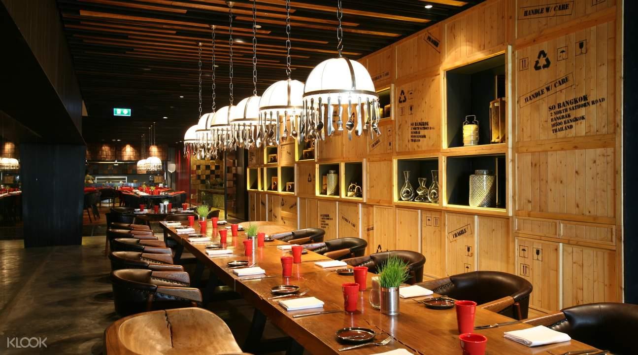 red oven buffet bangkok