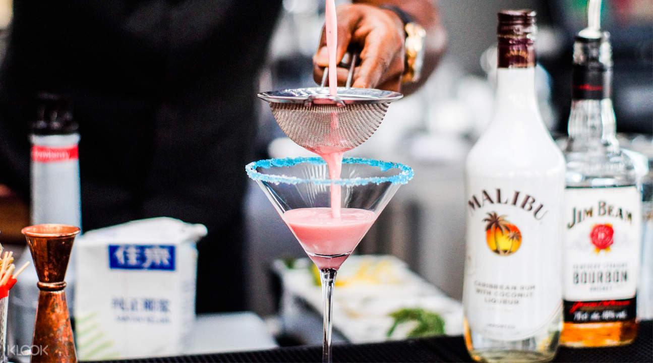 Propeller 港灣新加坡粉色雞尾酒