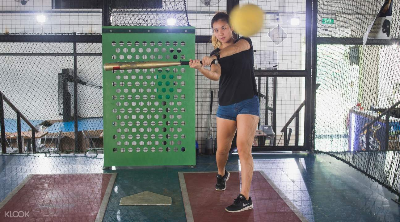 batting practice homerun baseball batting cage jurong east singapore