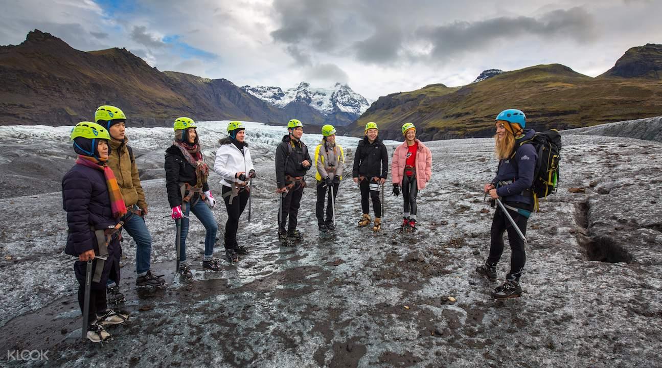 Vatnajökullglacier hike, svínafellsjökullexcursion, svínafellsjökullin skaftafell iceland, svínafellsjökullglacier tongue, skaftafell national park