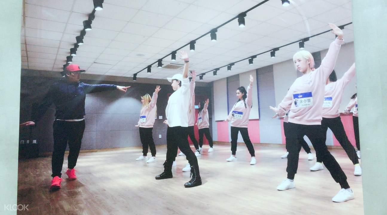 Produce101舞蹈課堂