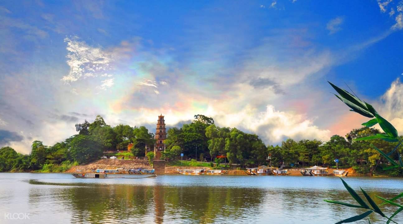 越南 顺化 天姥寺 Thien Mu Pagoda