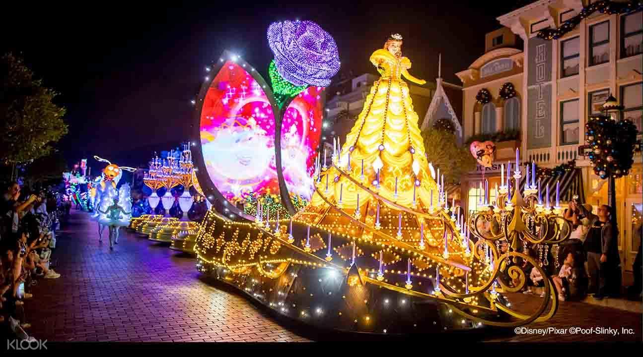 香港迪士尼樂園門票& 深圳灣至樂園過境巴士車票