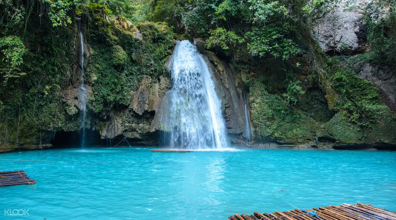 Kawasan waterfalls day tour