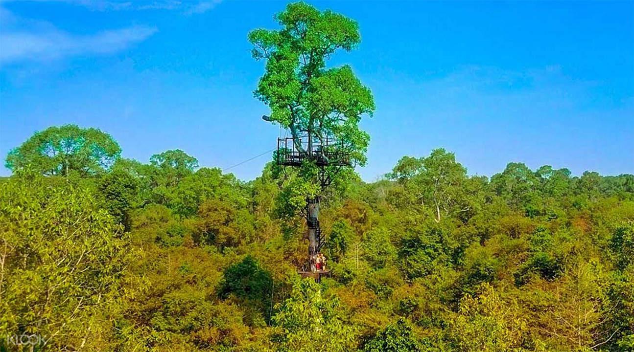 吳哥滑索 Angkor Zipline