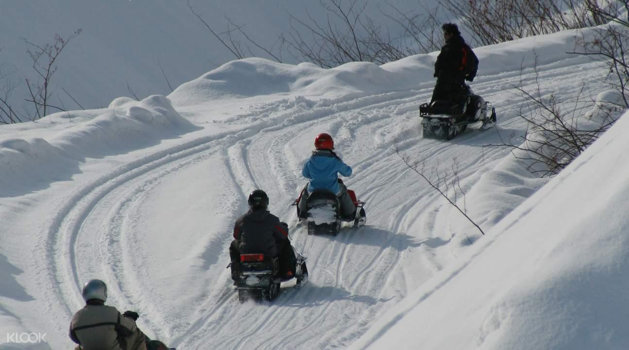 sapporo snowmobile