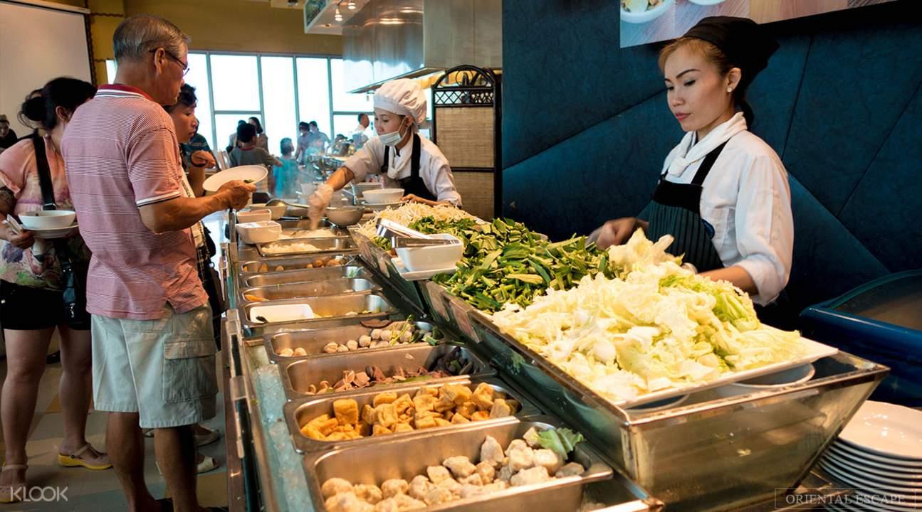 thai culinary delights baiyoke sky hotel