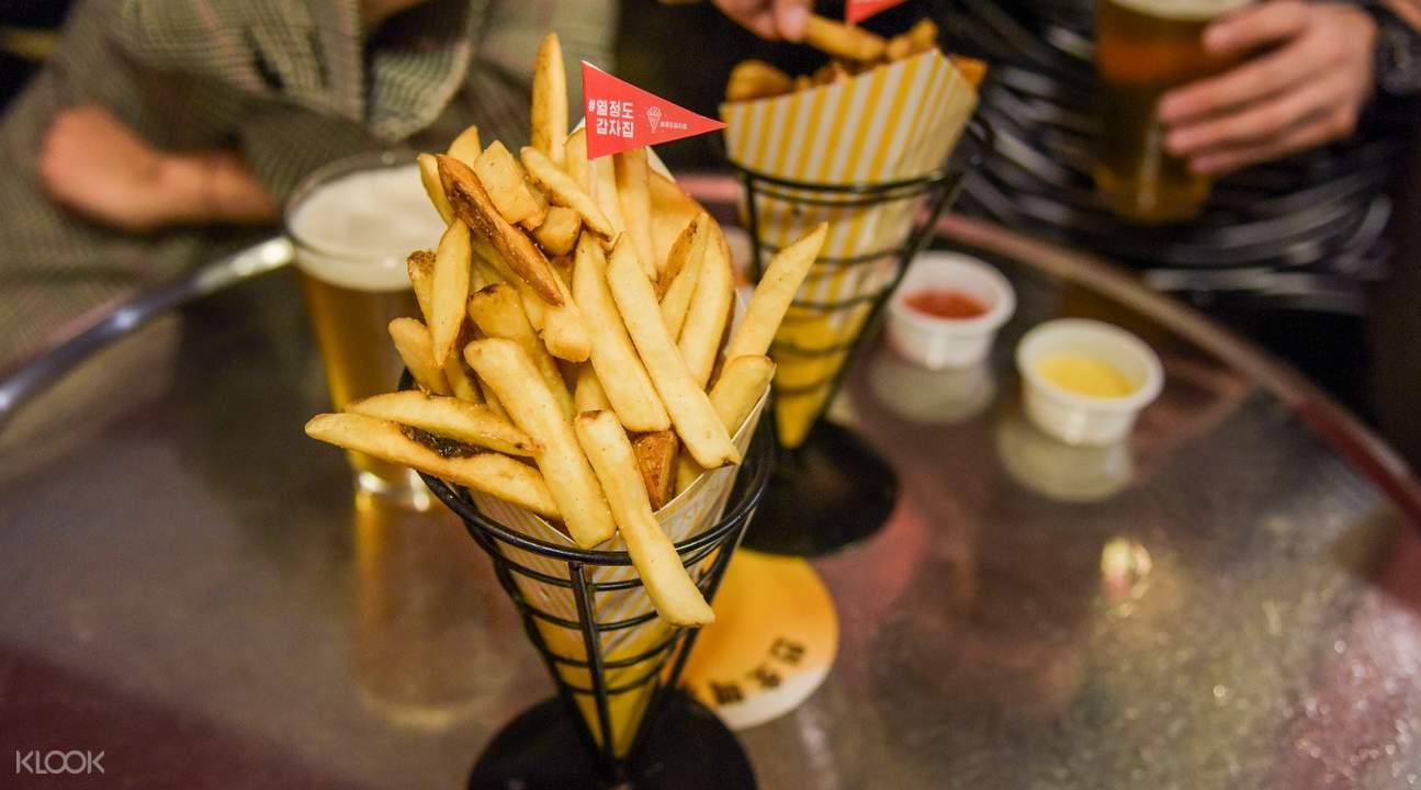 french fries gamja jip passion island seoul