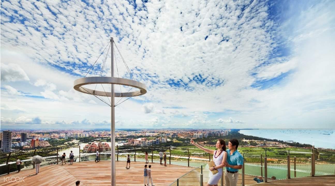 Tiket Masuk Marina Bay Sands Skypark Observation Deck Di Singapura Garden By The Singapore Anak Pusat Pengamatan Observasi