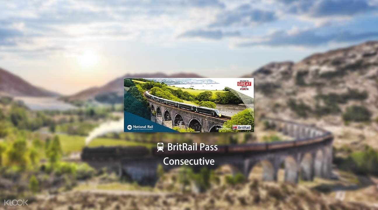BritRail Pass (Consecutive 3, 4, 8 or 15 Days)