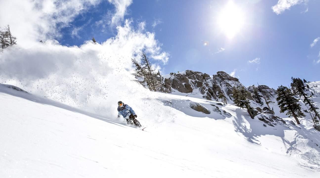 squaw snowboarding