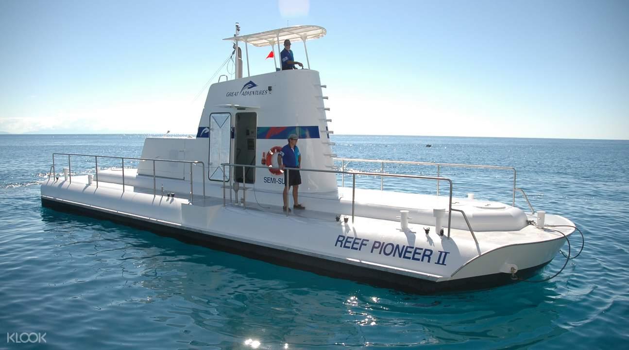 大堡礁珊瑚平台