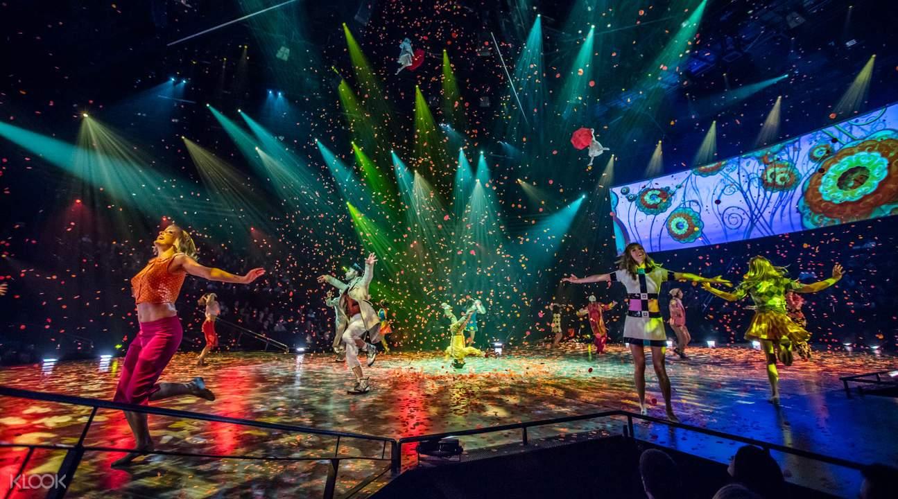拉斯维加斯 太阳马戏团「披头士LOVE」音乐秀