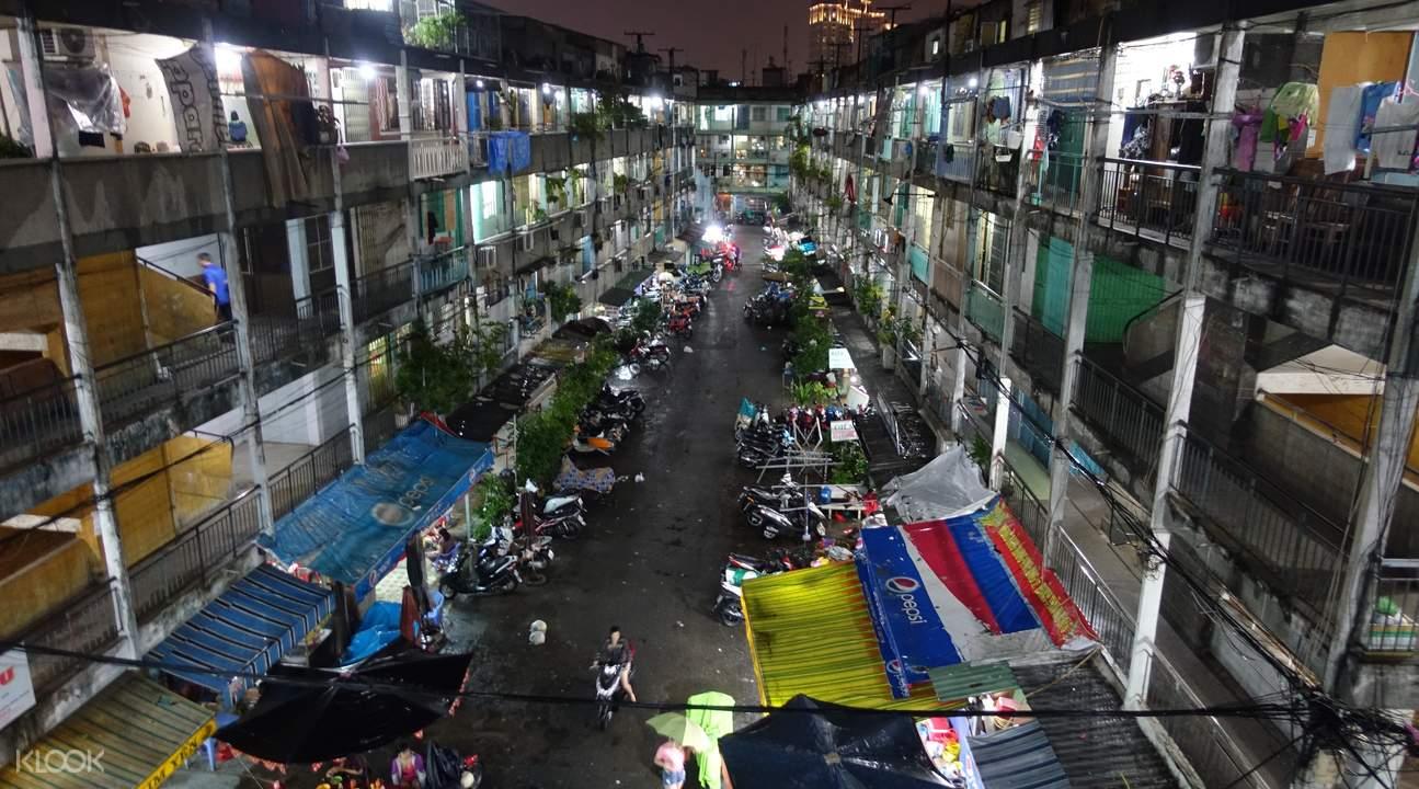 西贡老公寓建筑