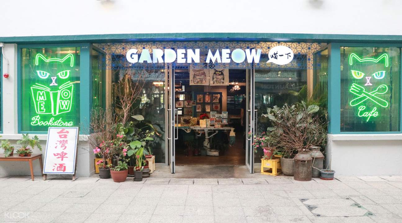 klook discounts garden meow central hong kong