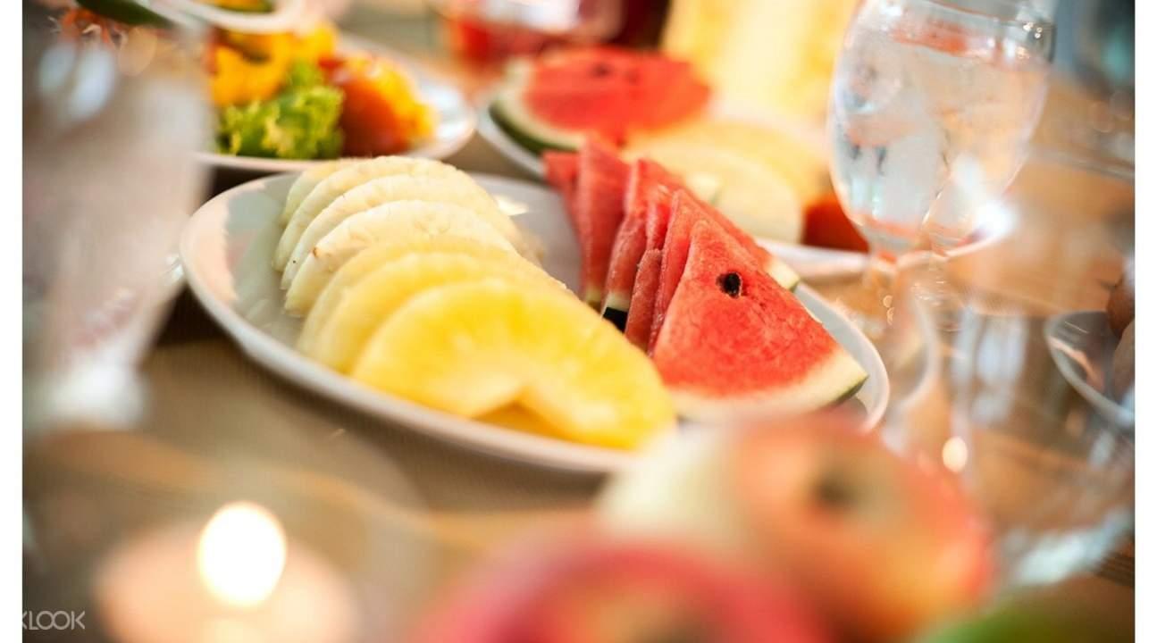 泰国 芭提雅 爱湾新温安酒店 海港清真餐厅