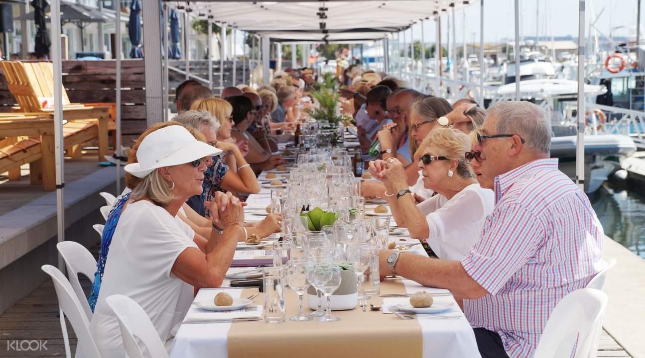 昆斯克利夫港口最長午餐美食體驗