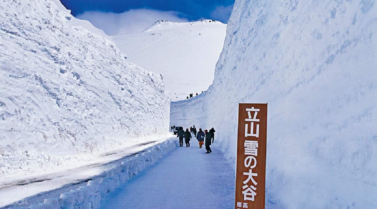 tateyama kurobe alpine route day trip