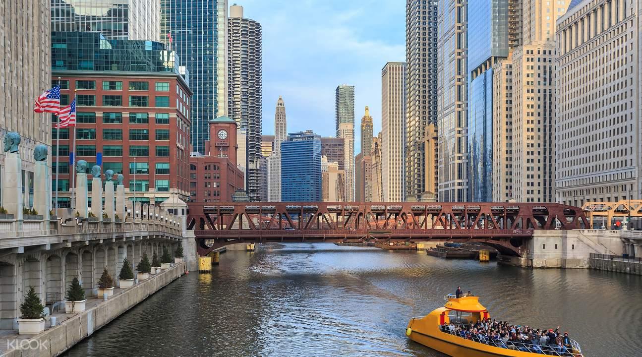 芝加哥建筑观光