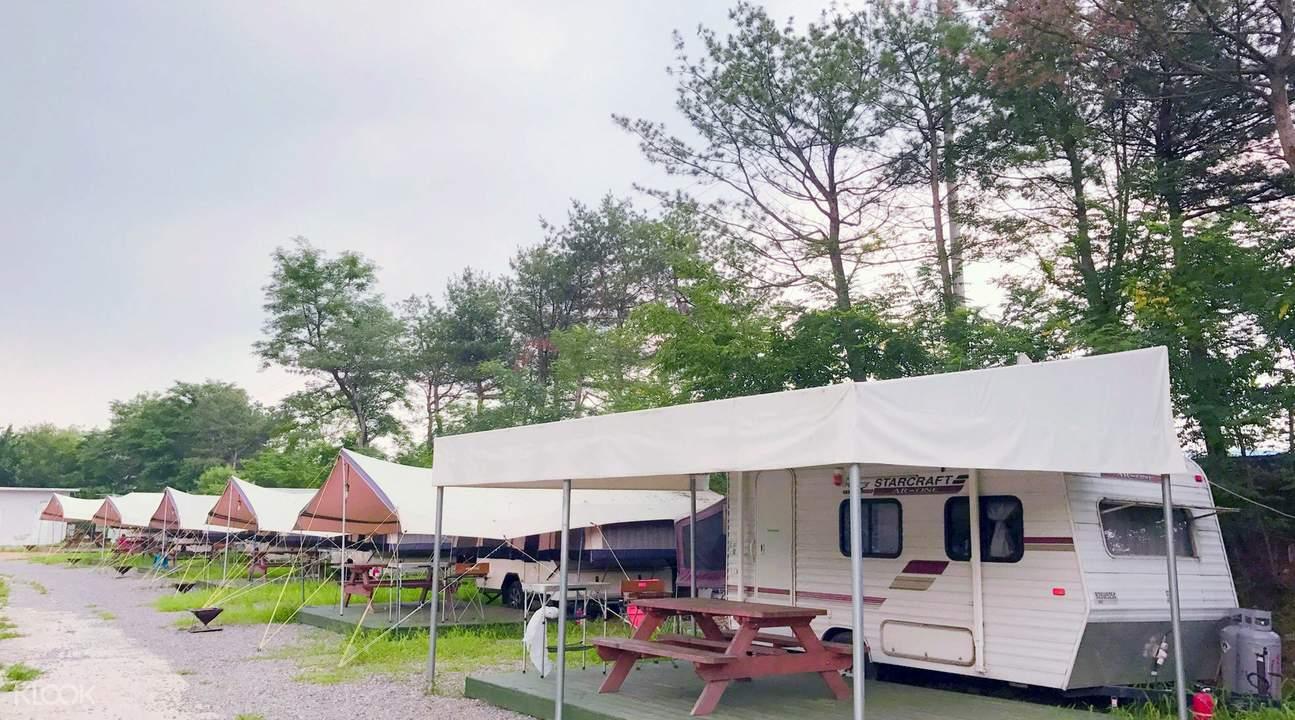 龍仁露營房車