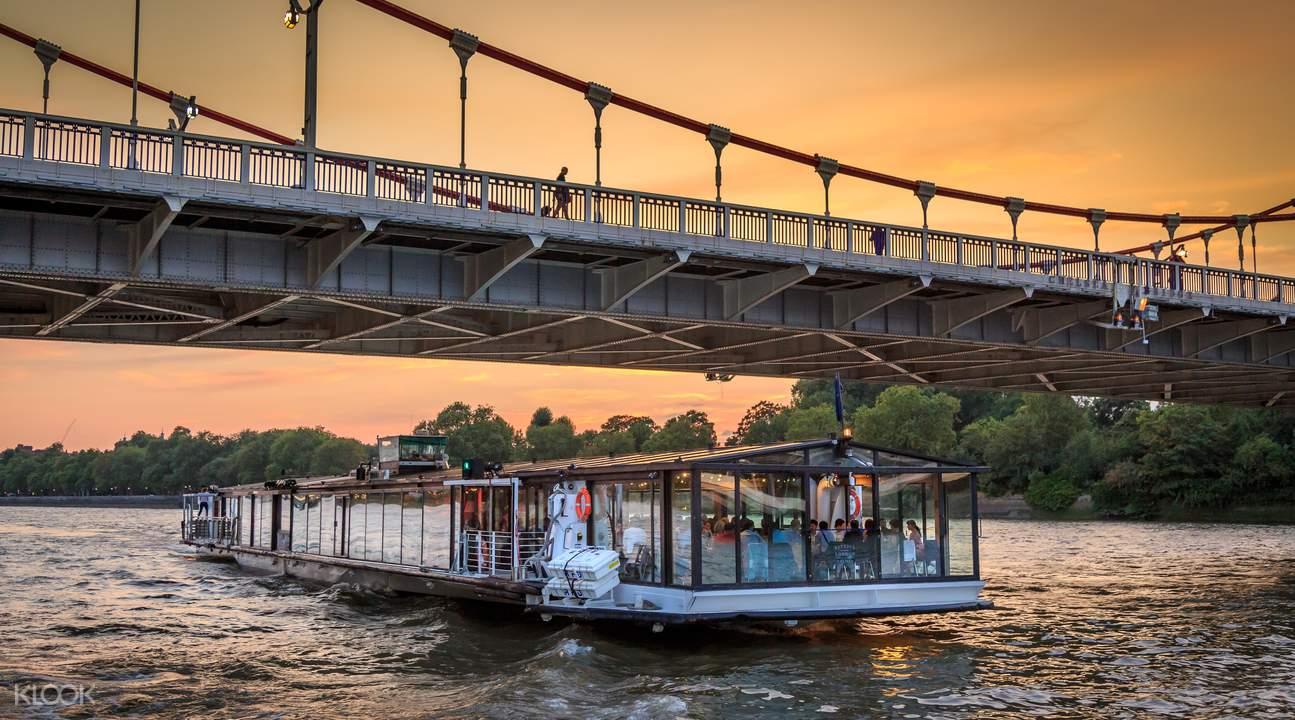 倫敦泰晤士河遊船