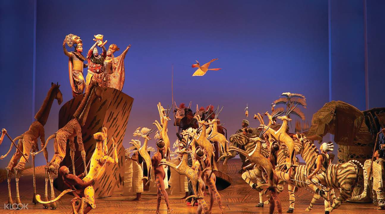 The Lion King Broadway Show production