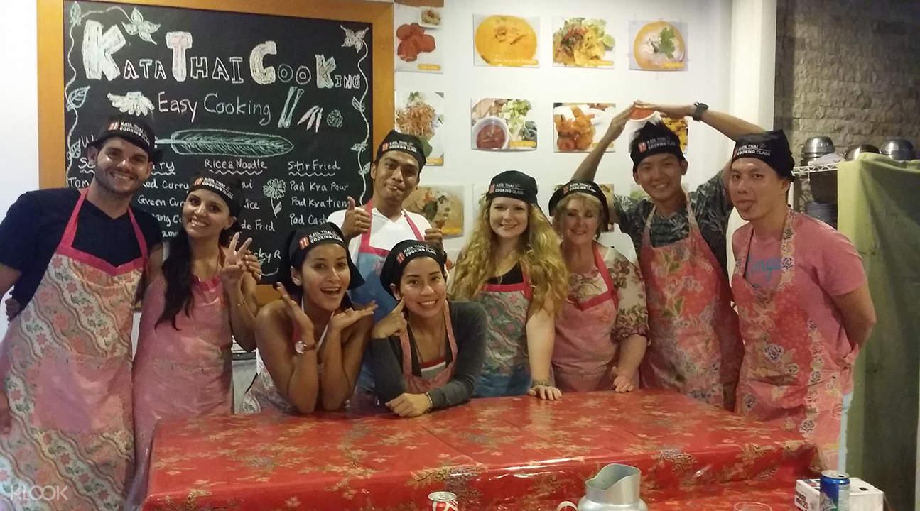 Kata泰式料理烹饪课