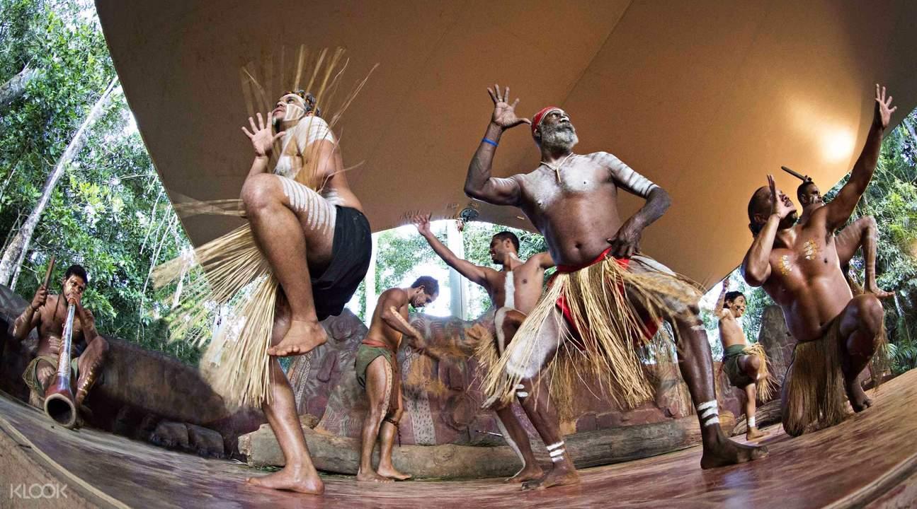 澳洲土著表演