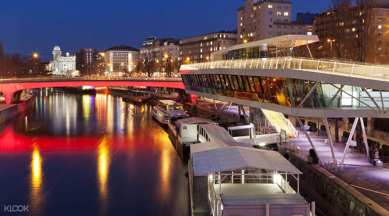 維也納隨上隨下觀光大巴 + 多瑙河遊船