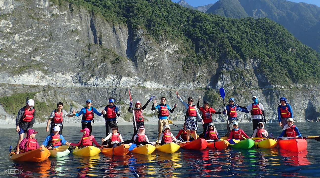 sea kayak taiwan