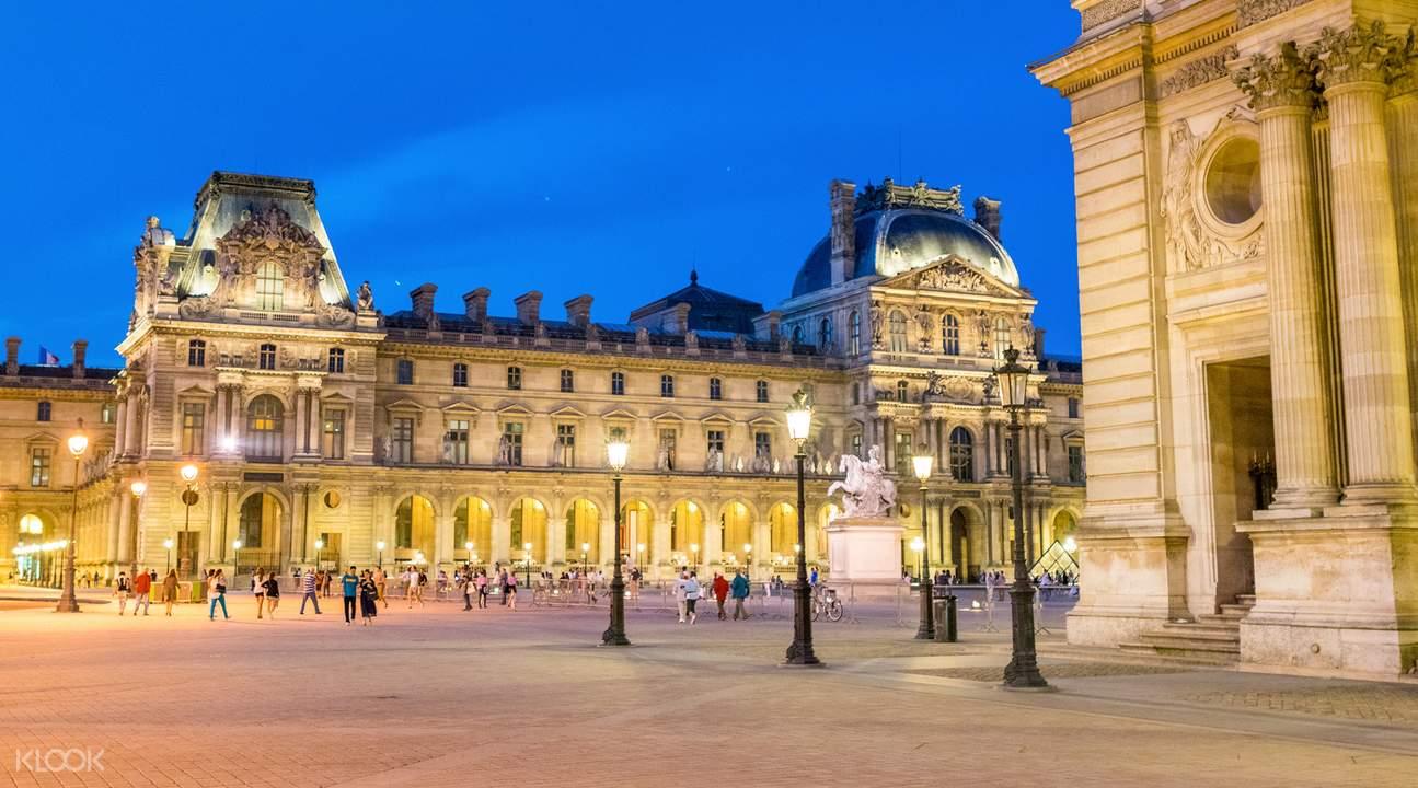 巴黎羅浮宮門票