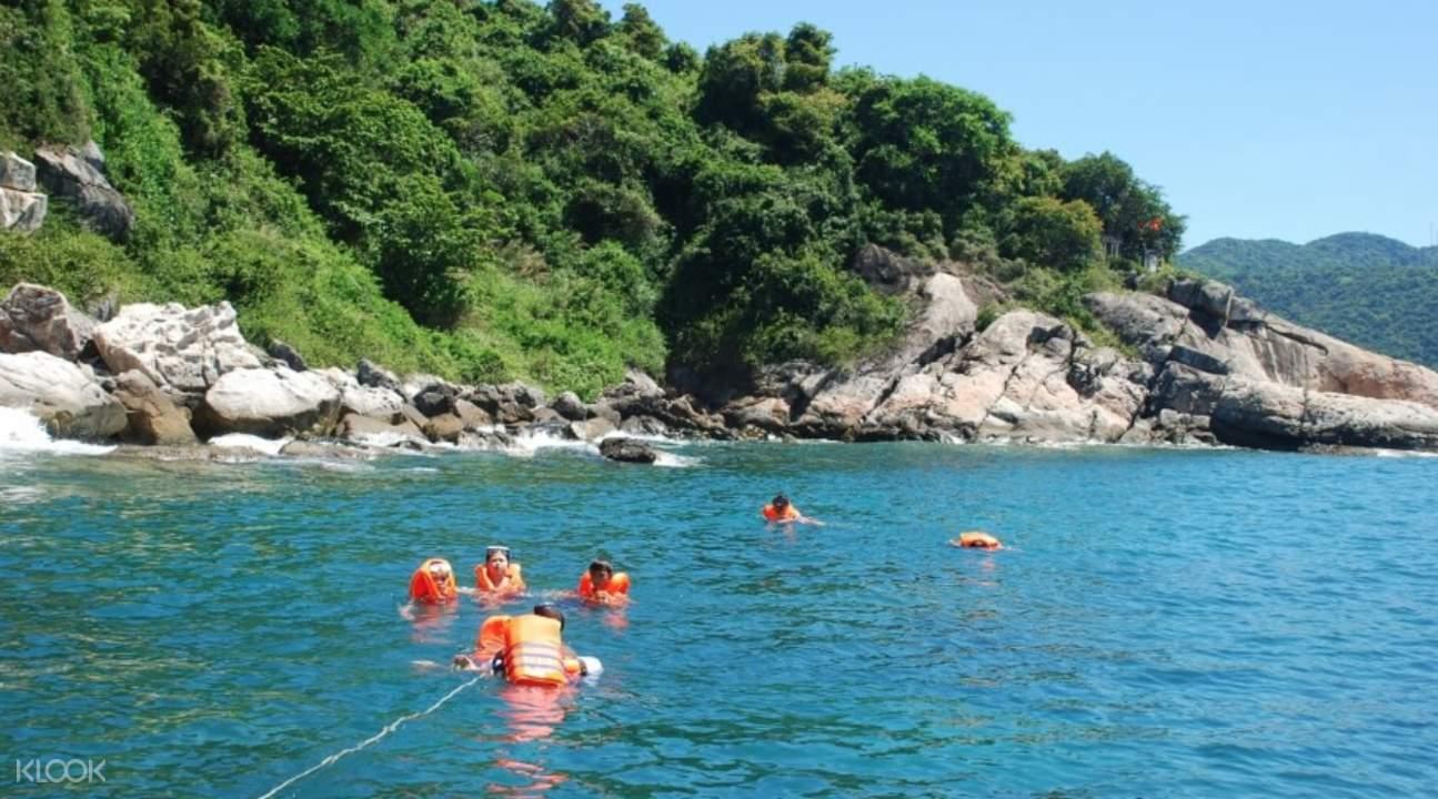 占婆岛游泳