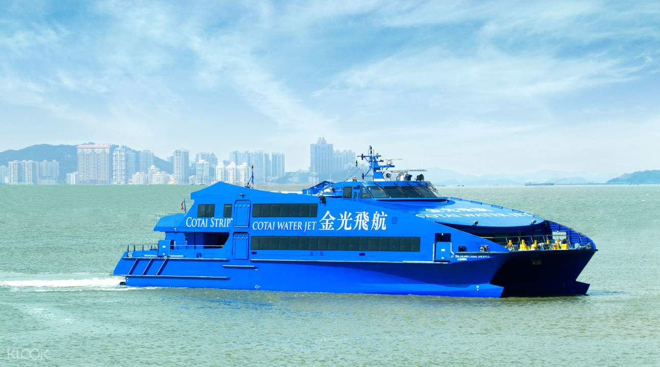 Hong Kong to Macau CotaiJet Ferry Tickets - Klook