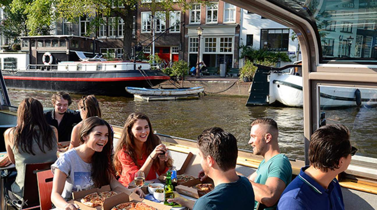 amsterdam pizza cruise netherlands