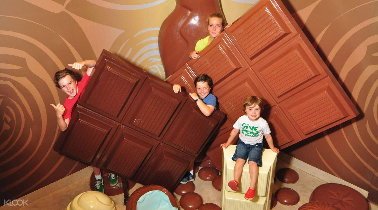 Chocolate factory ticket Phillip Island