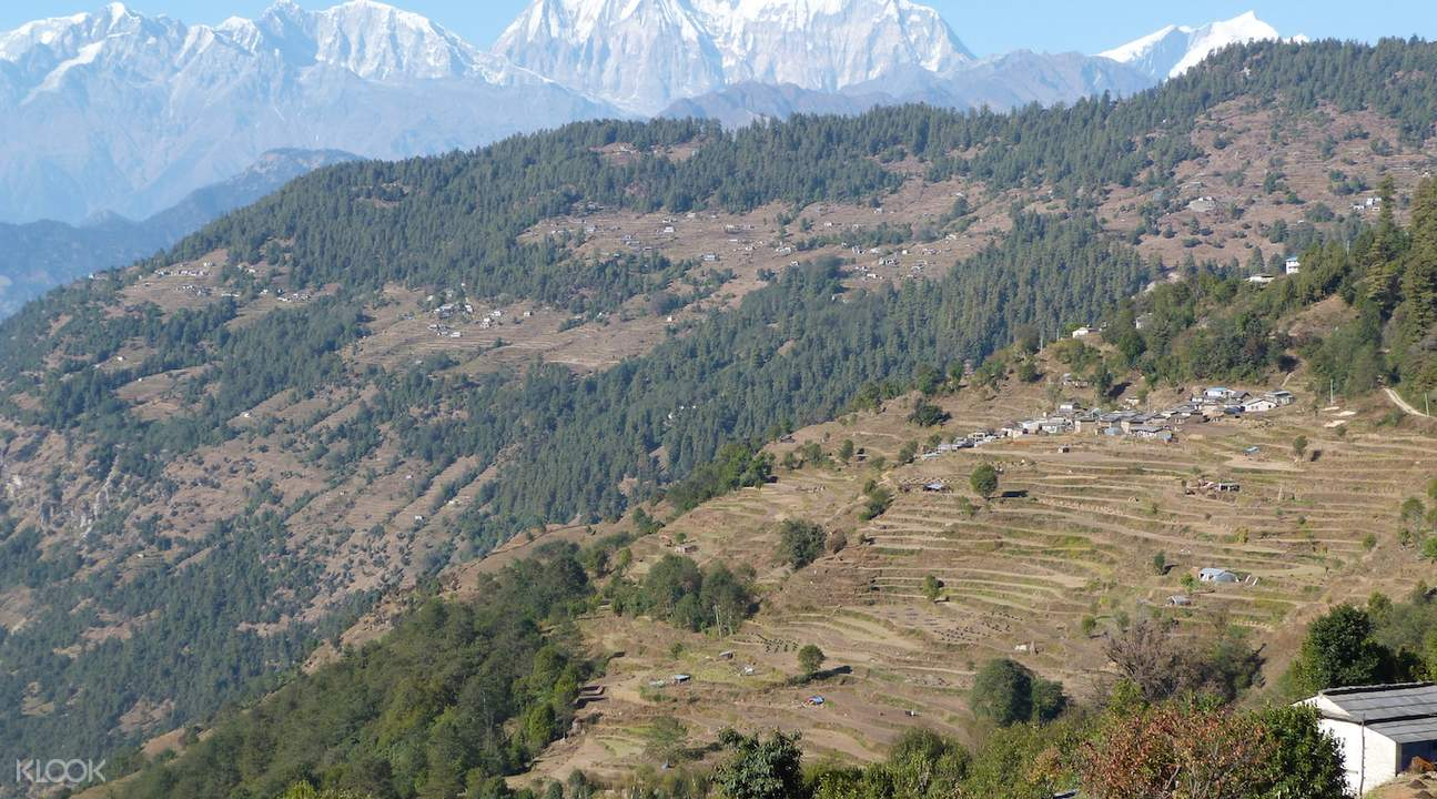 Ghandruk village Ghorepani Poon Hill Trek