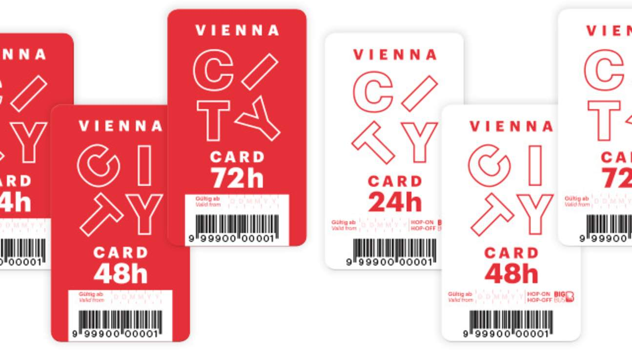 vienna city card, vienna city card white, vienna city card red, vienna city card big bus, vienna city card discounts