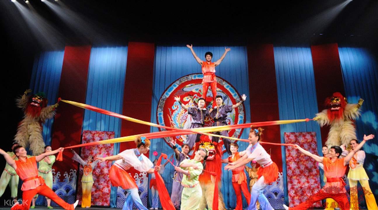 中國傳統表演藝術劇場