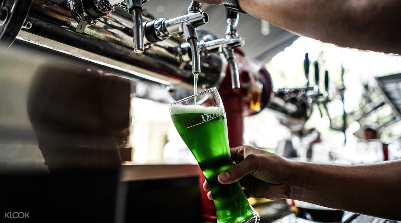 Beer Factory 新加坡萊佛士坊green monster