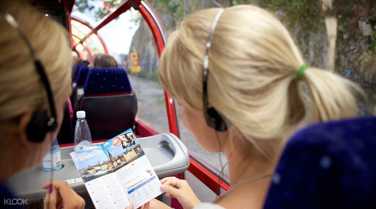 Stockholm bus tour