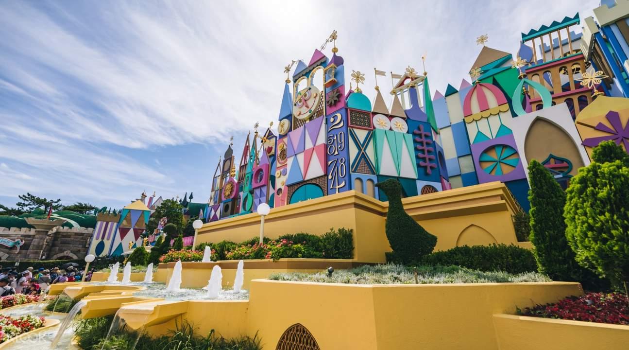 Tokyo Disneyland ticket booking
