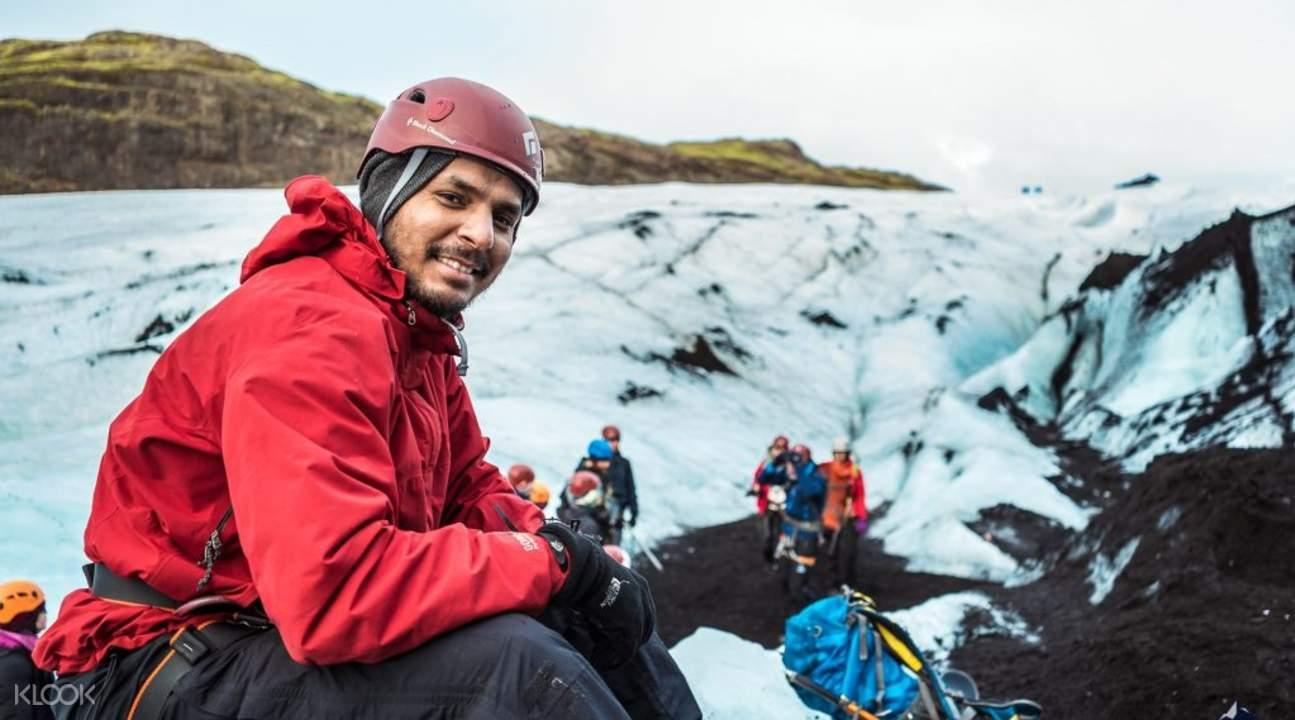 Glacier hike day tour reykjavik
