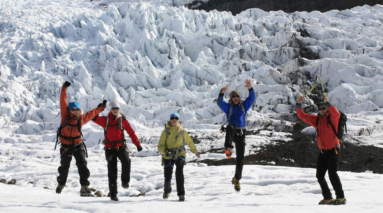 glacier x-treme 7 hour hike