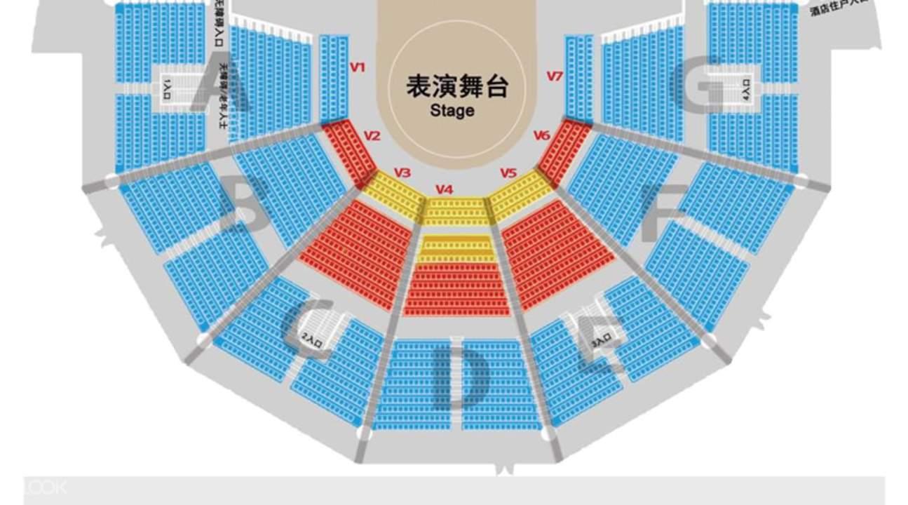 珠海長隆橫琴島劇院座位