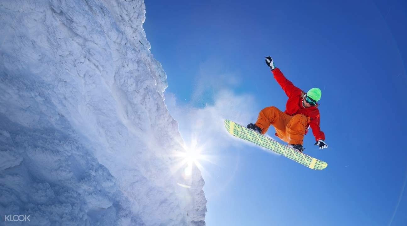 神立高原滑雪場滑雪