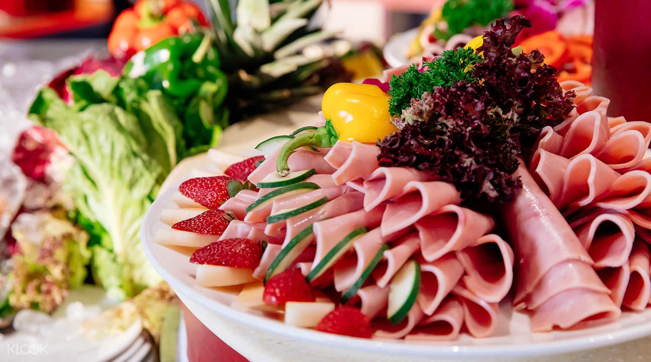 香港洋紫荊号自助餐