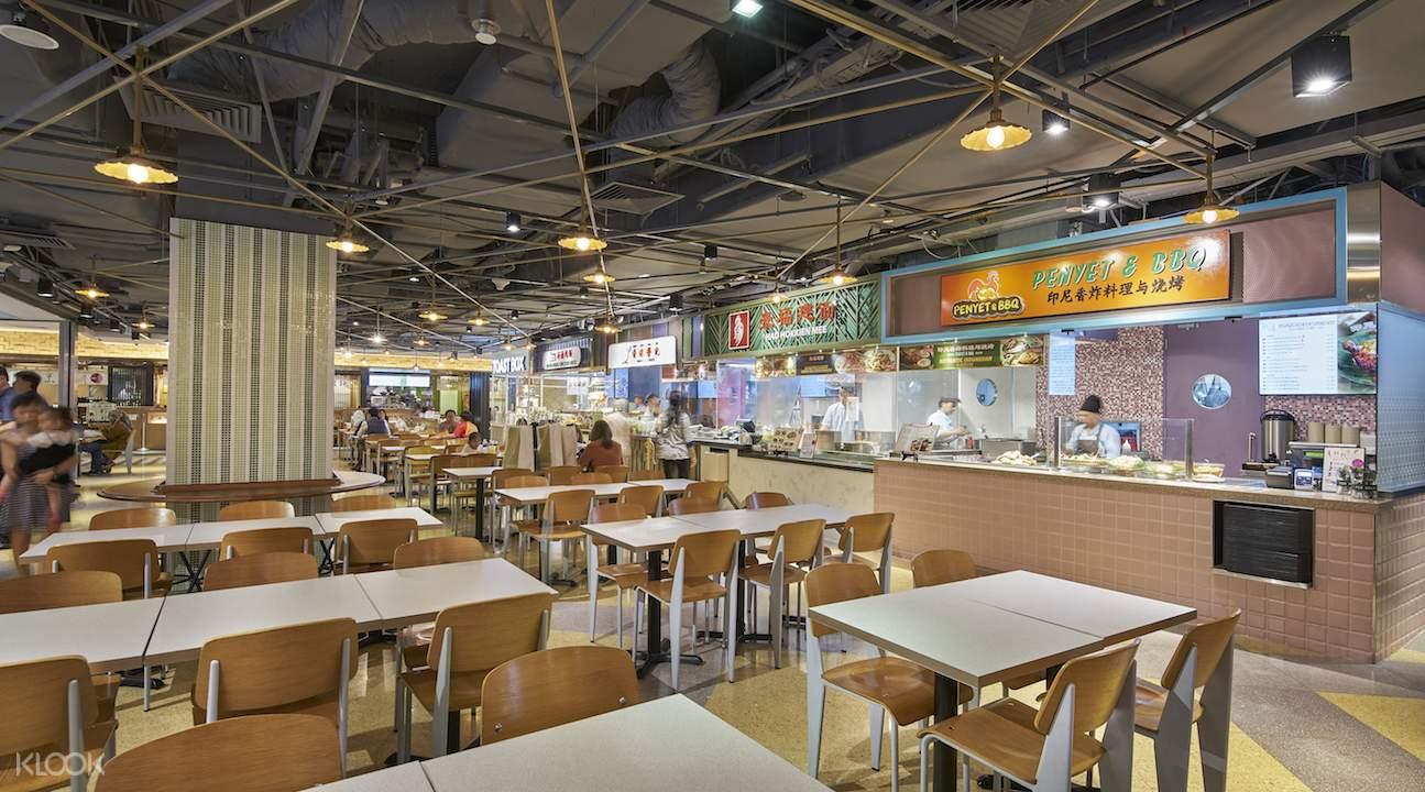 新加坡威士馬大食代美食通票
