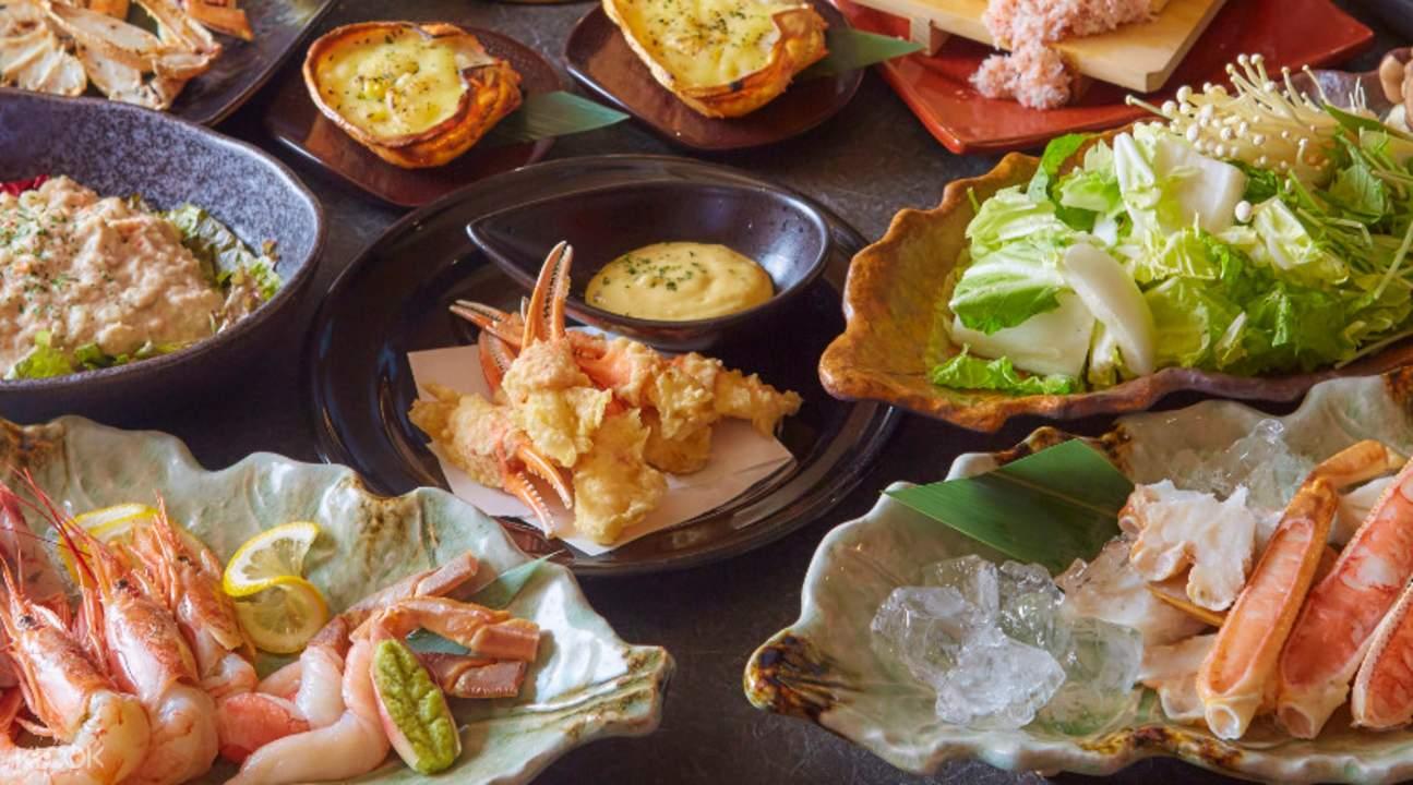 fresh ingredients Karin in Namba Osaka Japan