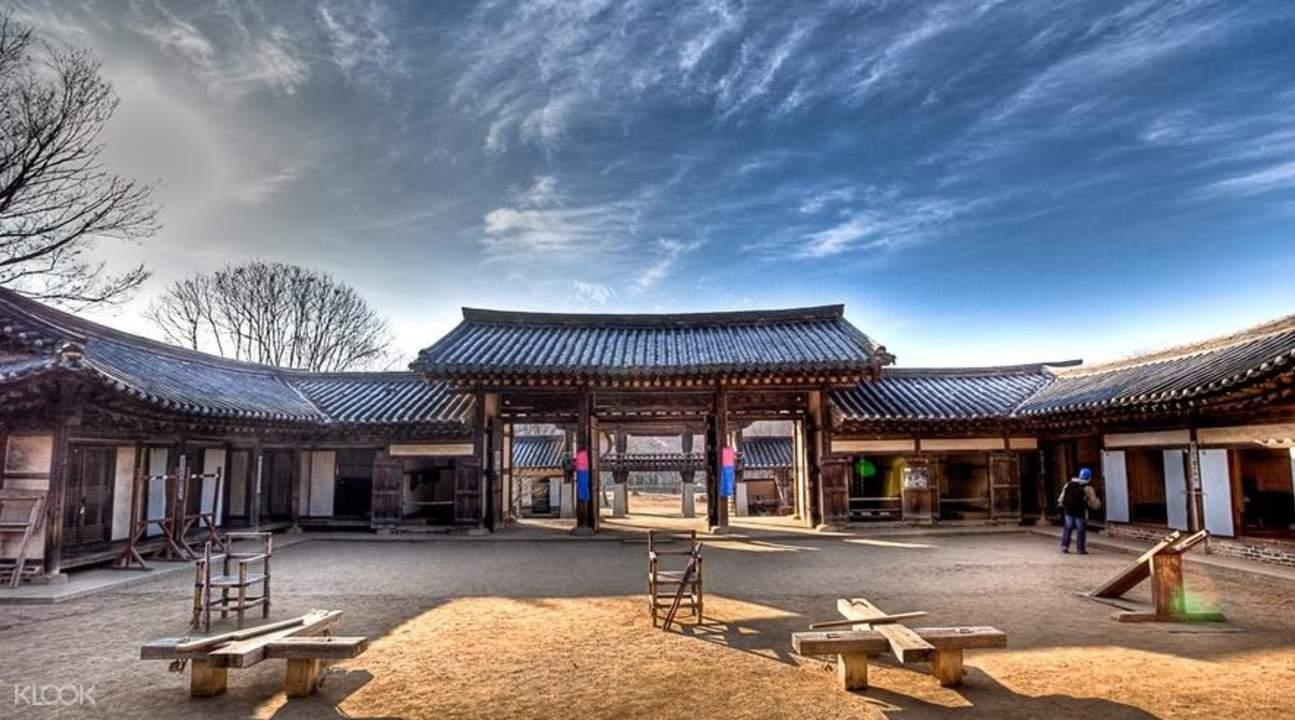 韩国传统民俗村